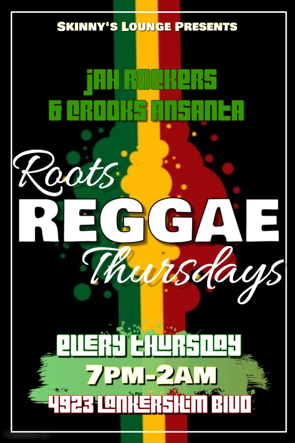 Skinny's Reggae Night