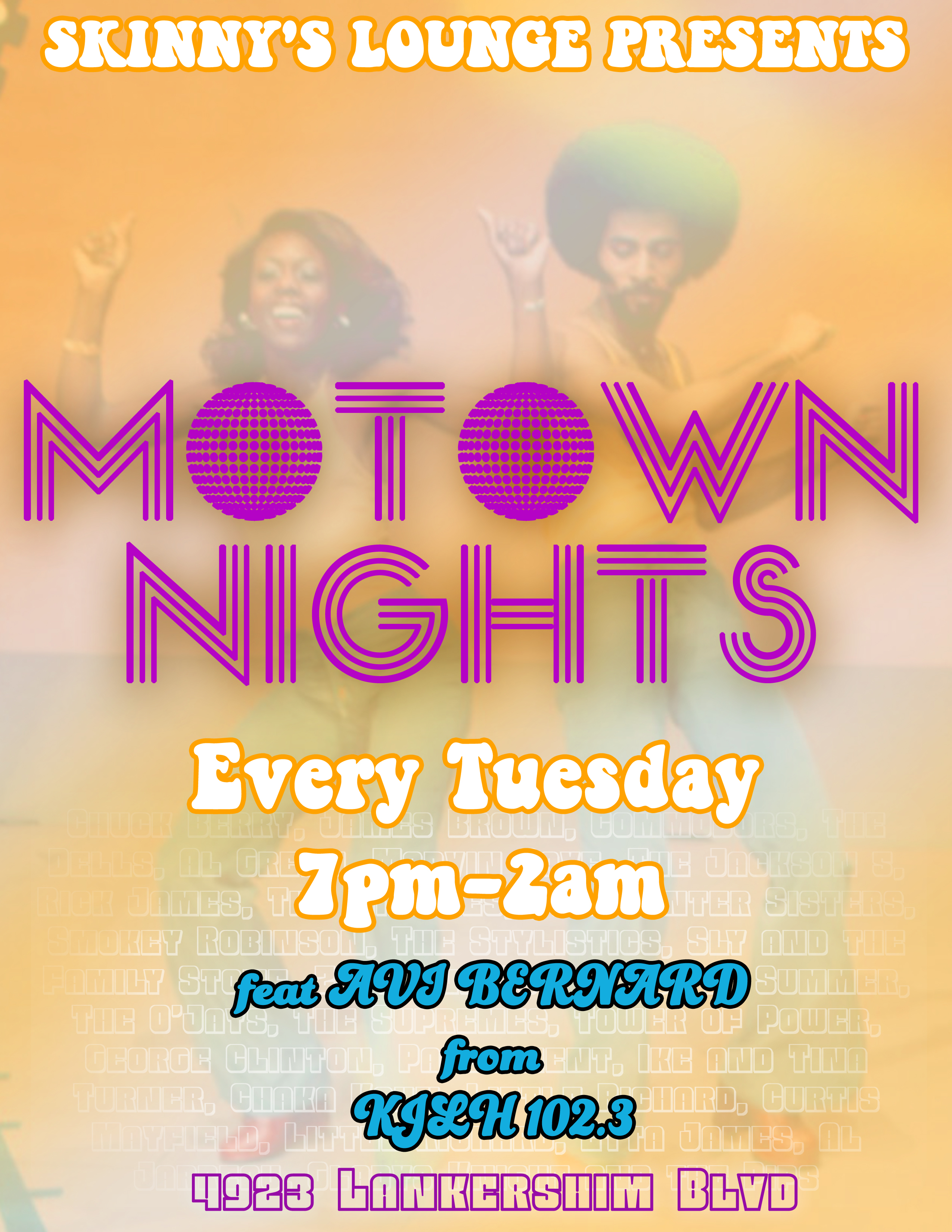 Skinny's Motown Tuesday's